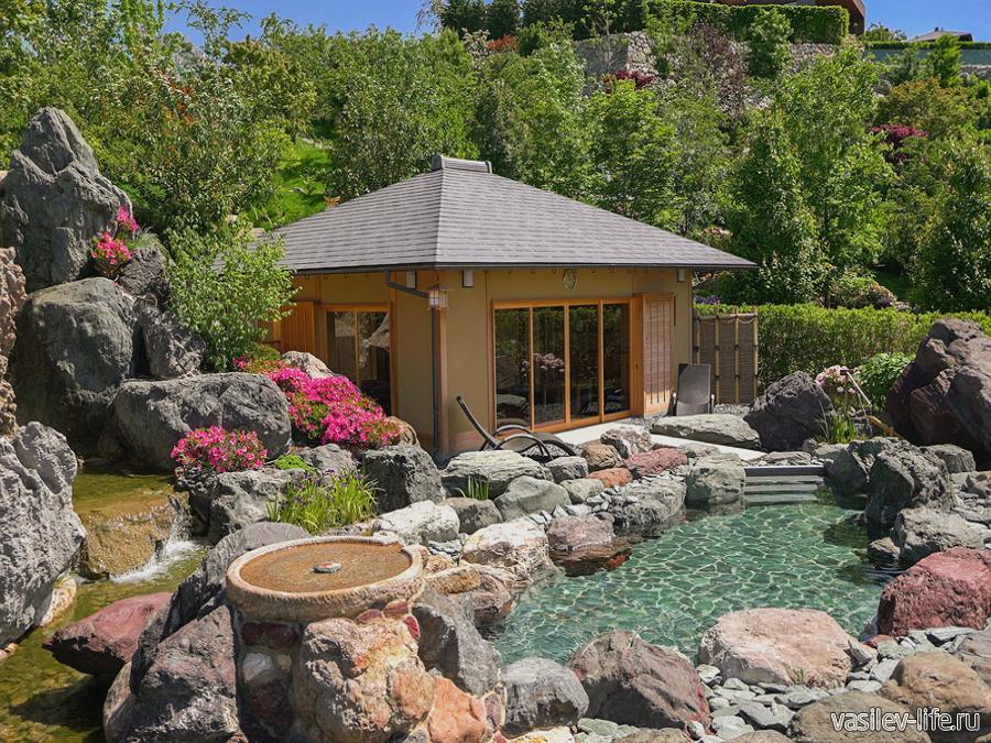 Японский сад Шесть чувств в Ялте