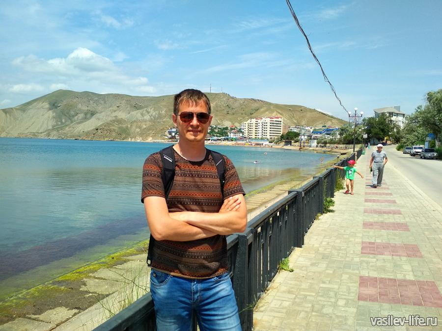 Я на Набережной Орджоникидзе