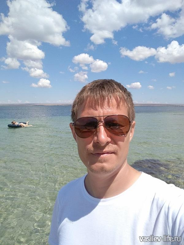 Я на озере Донузлав
