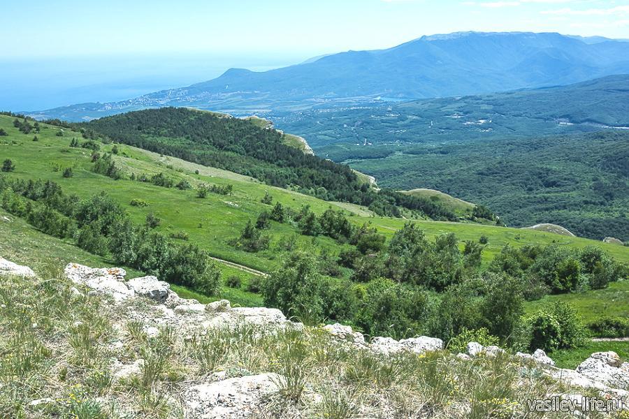 Ангарский перевал в Крыму