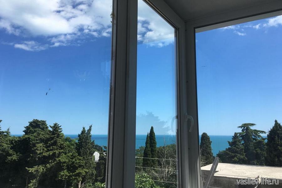 2-комнатная квартира на Южном побережье Крыма в Гаспре