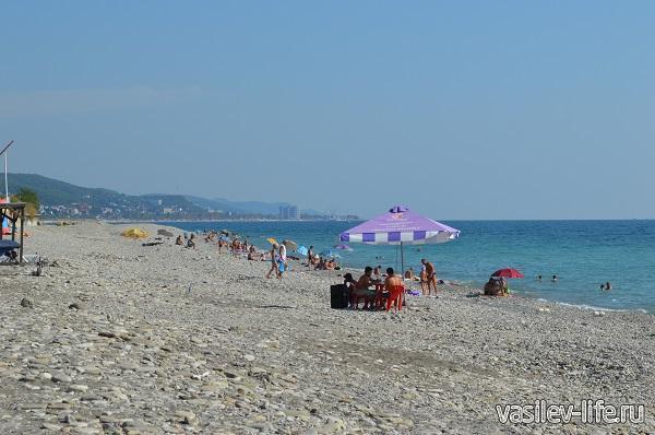 Безлюдный-пляж-в-Аше-фото-сентябрь-2015