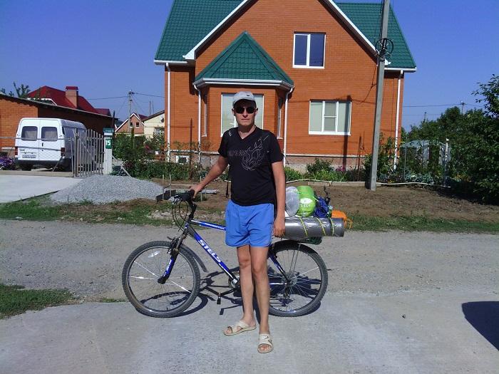 Велопоход - вещи собраны, готов ехать