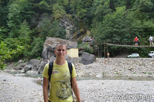 Внизу-Водопада-Шапсуг