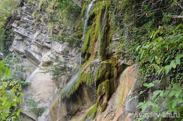 Водопад-Шапсуг.