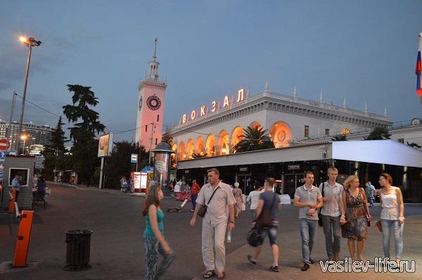 Вокзал-в-Сочи
