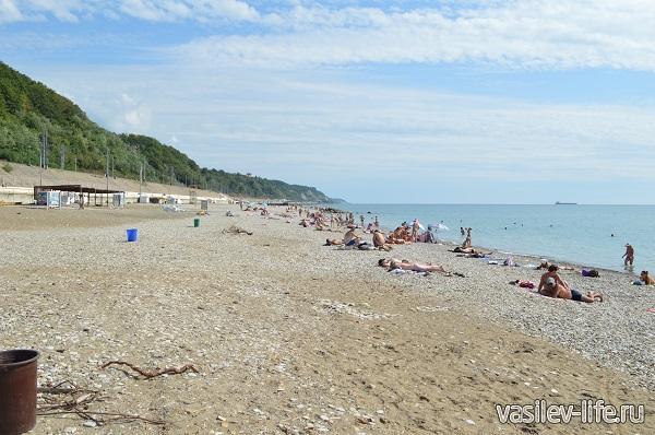 Пляж-в-Туапсе