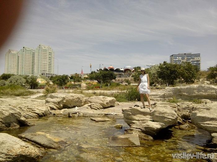 Вид на город из моря