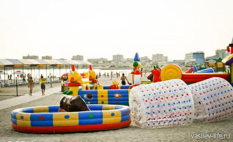 Пляж «Нур Плаза»