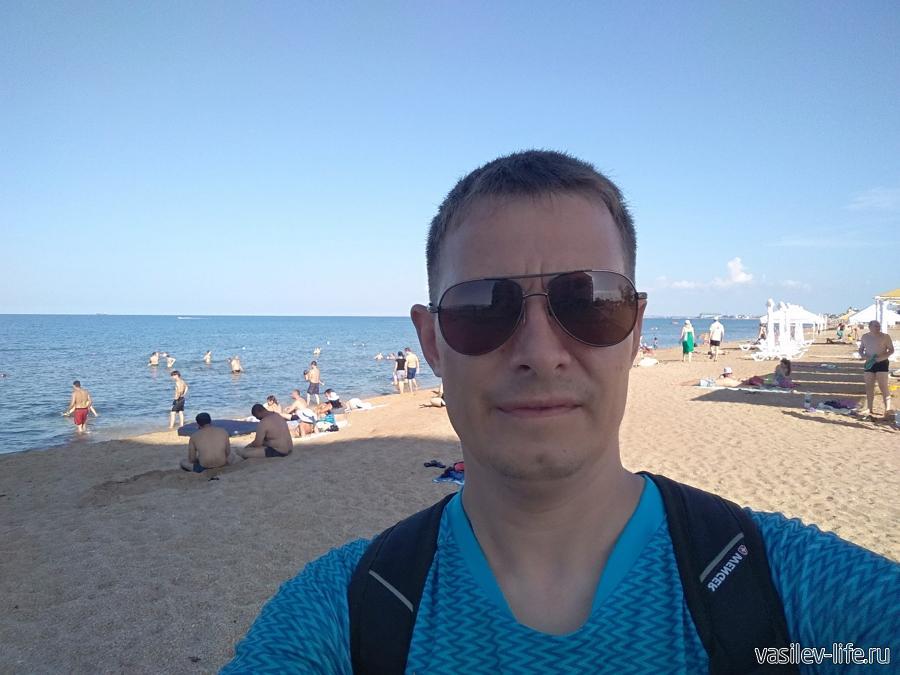 Я на пляже