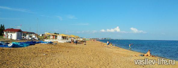 Пляжи поселка Береговое