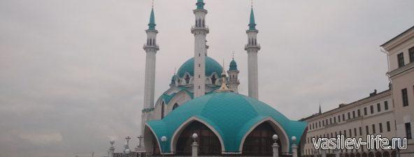 Мечеть на территории Казанского Кремля