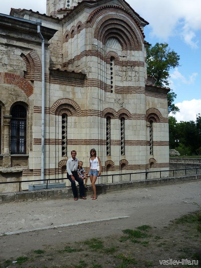 Ульяна с отцом и сыном (2009 год)
