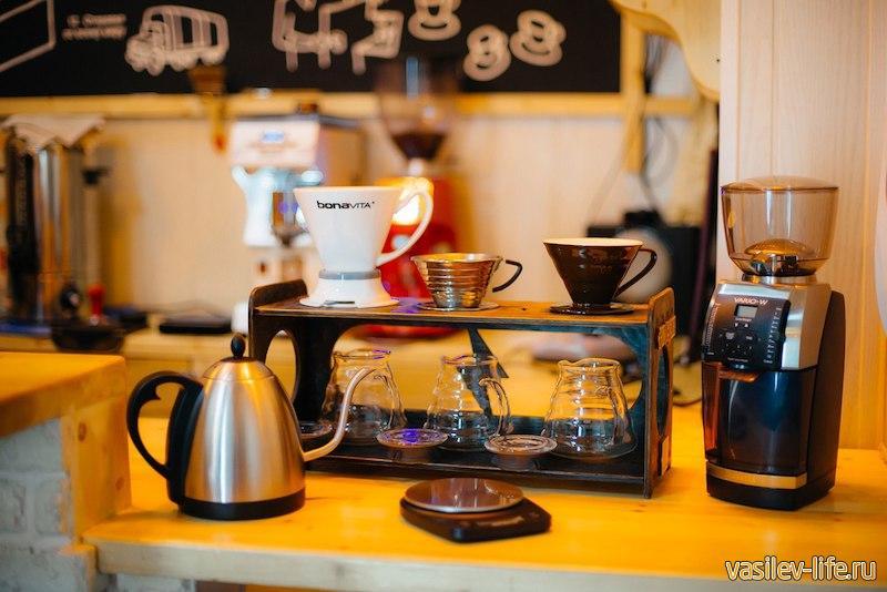 Кофе в кофейне Кофедвиж в Ялте